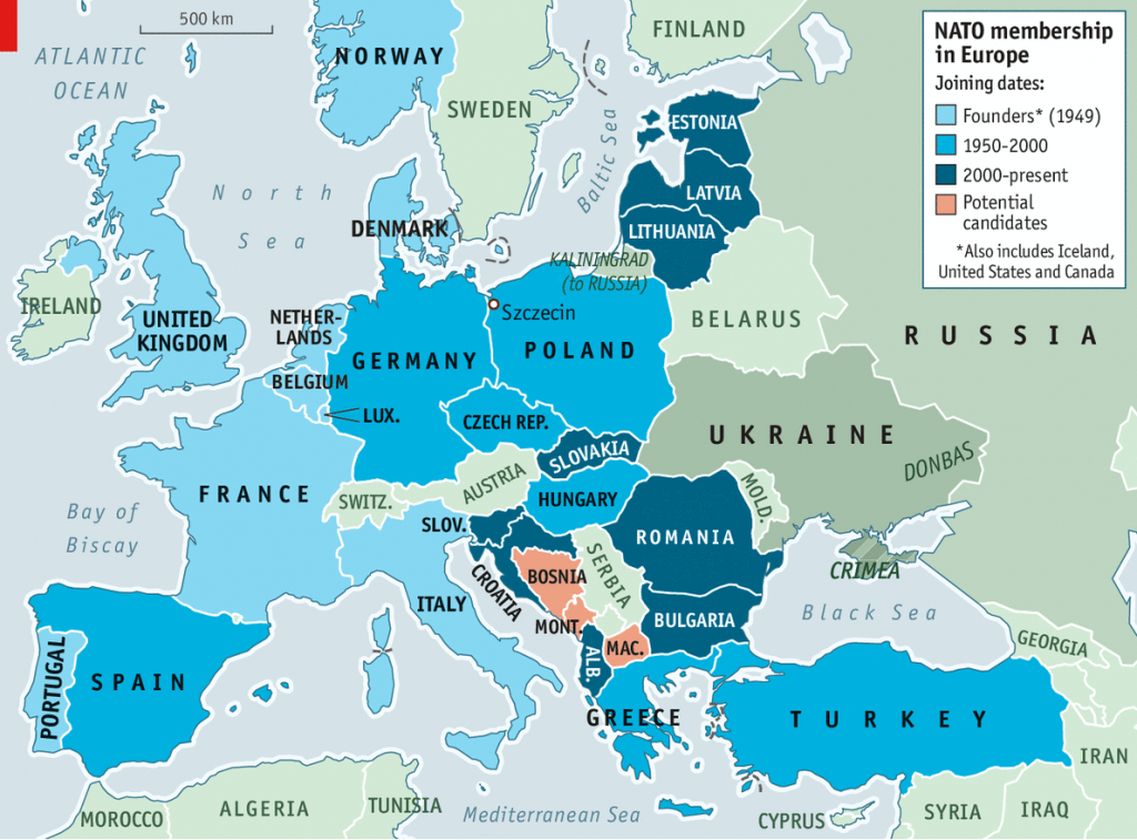 Members and NATO Enlargement