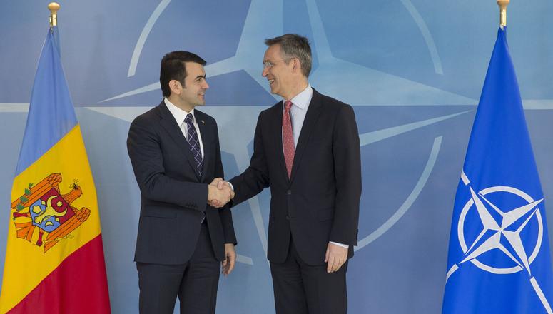 NATO reiterează susţinerea pentru Republica Moldova