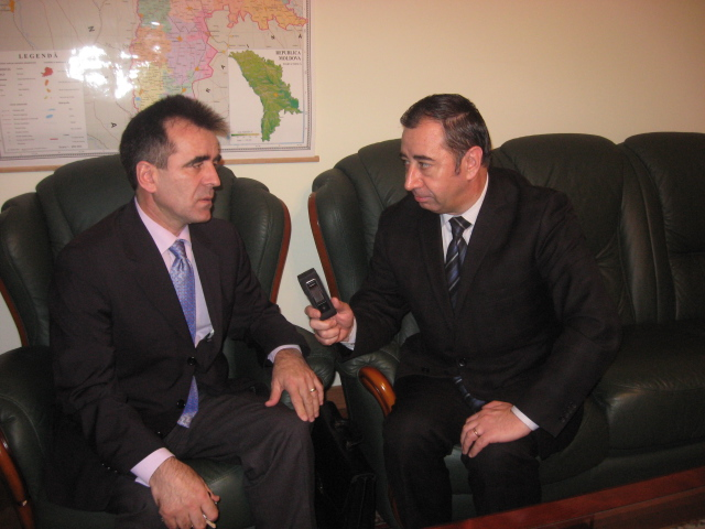 Interviu cu E.S. dl Ambasador Mihai Gribincea pentru Teleradio Moldova, în contextul vizitei de lucru a echipei CID NATO la Cartierul General al NATO din 20 noiembrie