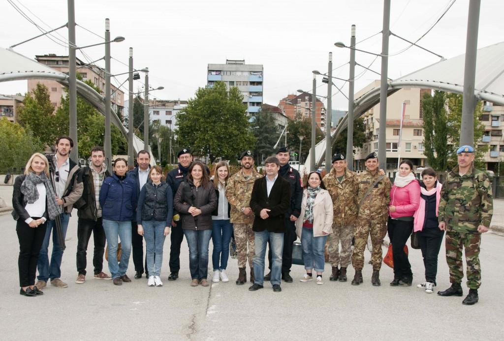 Reportaj fotografic de la vizita de studiu a jurnaliştilor în Kosovo