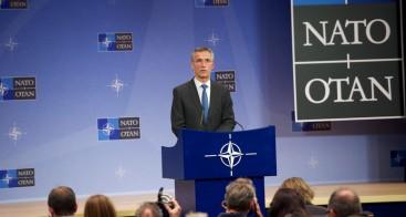 NATO Secretary General during his press conference