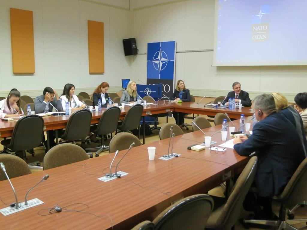 Vizita de studiu la Cartierul General NATO