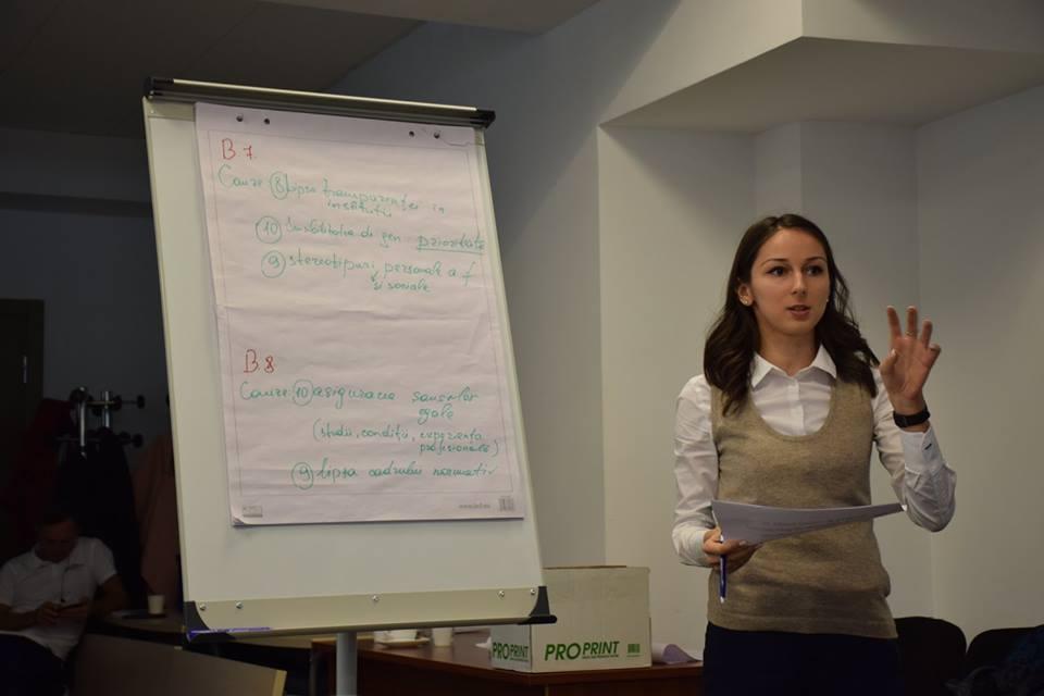 Ședința grupului tehnic de lucru privind elaborarea Planului Național de Acțiuni de implementare a Rezoluției 1325