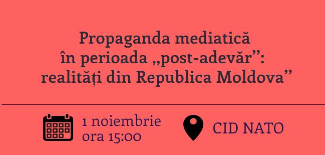 Propaganda mediatică în perioada ,,post-adevăr'': realități din Republica Moldova