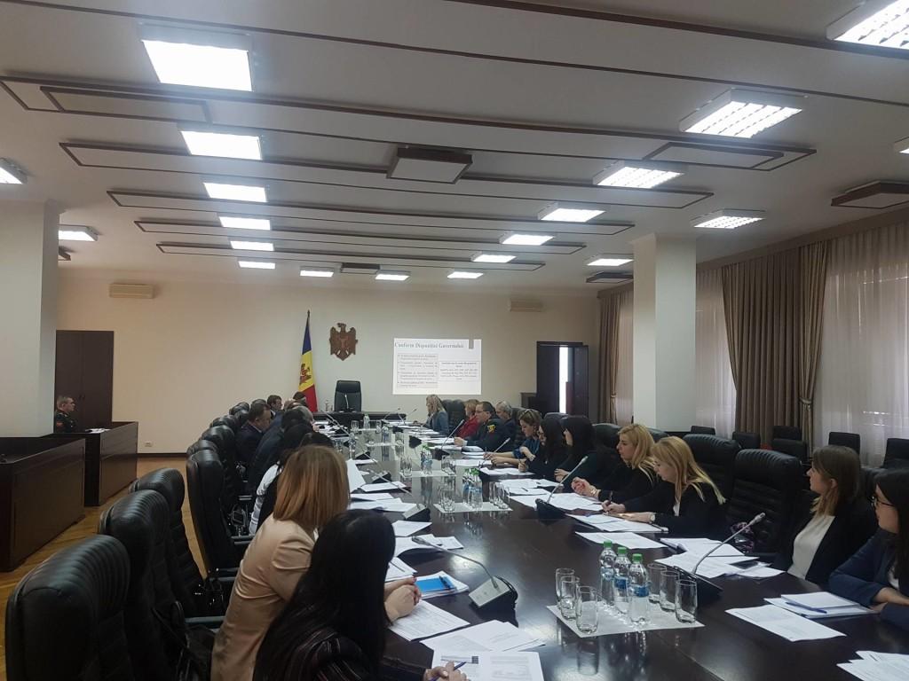 Activitatea grupului de lucru la nivel înalt și la nivel tehnic privind elaborarea și aprobarea Planului national de acțiuni cu privire la Rezoluția 1325 a Consiliului de Securitate al ONU