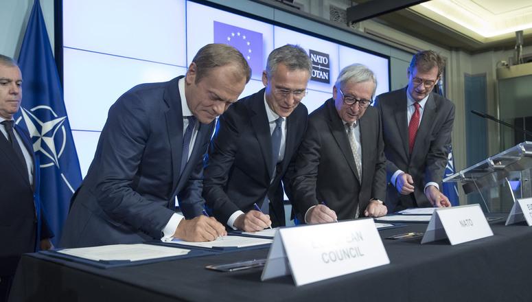Declarația comună privind cooperarea UE-NATO