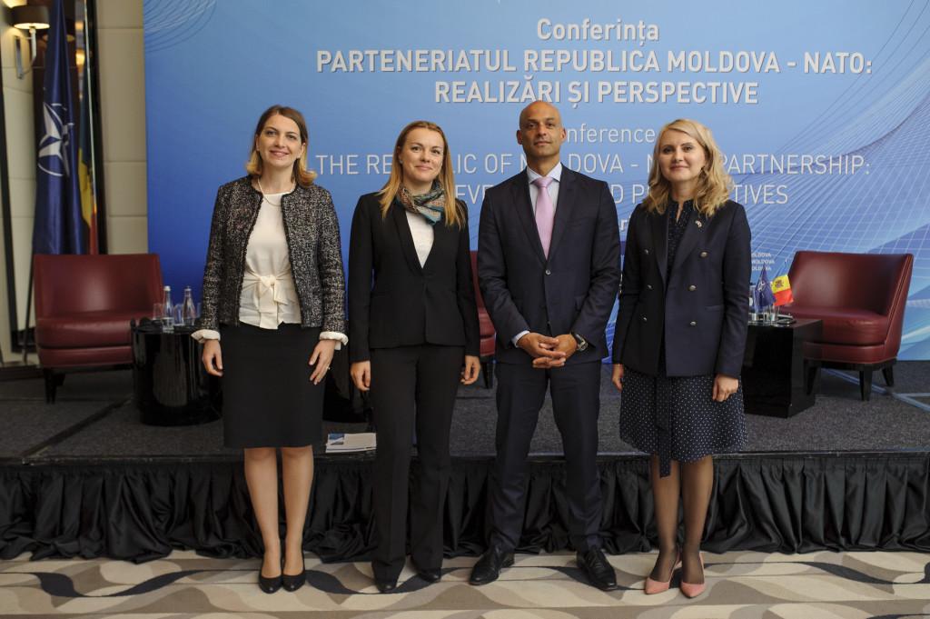 """Implementarea activităților în cadrul Proiectului Zilele NATO în Moldova, Ediţia 2018"""""""