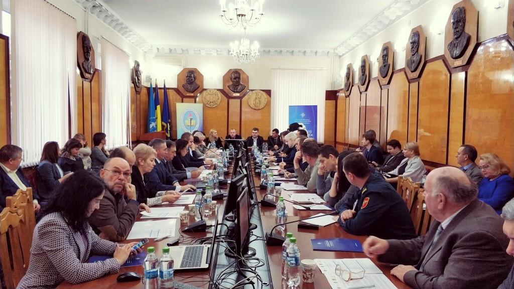Круглый стол на тему: «Стратегическая коммуникация в области безопасности и обороны: потребности и перспективы».