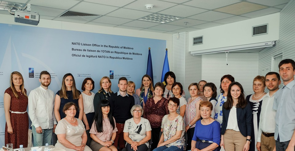 Opinion leaders from the regions on a study visit to Chisinau