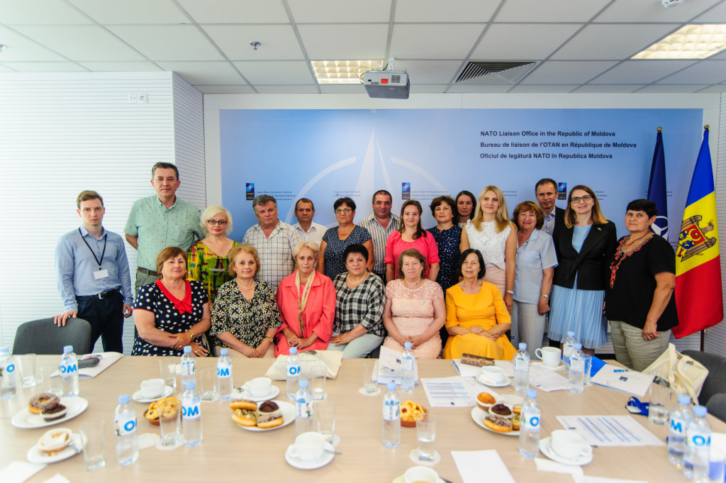 The study visit of the opinion formers from Hincesti and Telenesti to Chisinau
