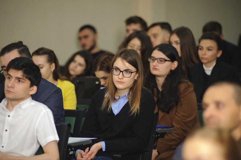 CID NATO și USM au organizat o conferință inter-universitară la Chișinău, în data de 4 octombrie 2019.