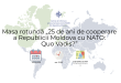 """ANUNȚ: Masa rotundă """"25 de ani de cooperare a Republicii Moldova cu NATO: Quo Vadis?"""""""