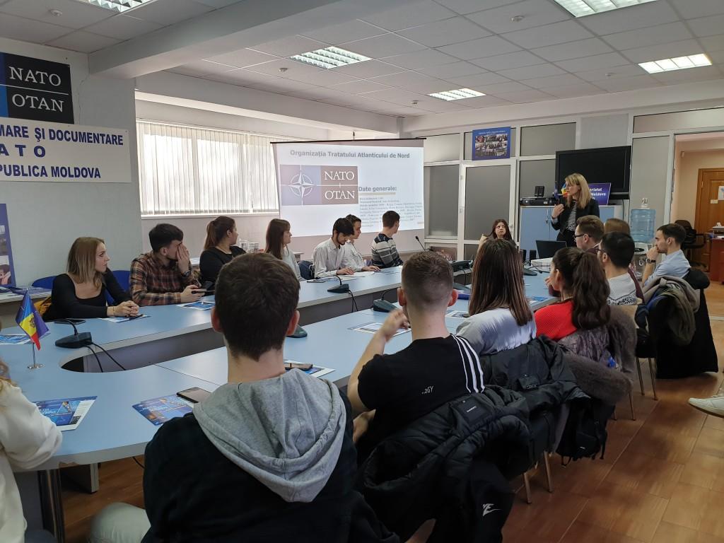 Lecție publică pentru ULIM: Relația RM-NATO