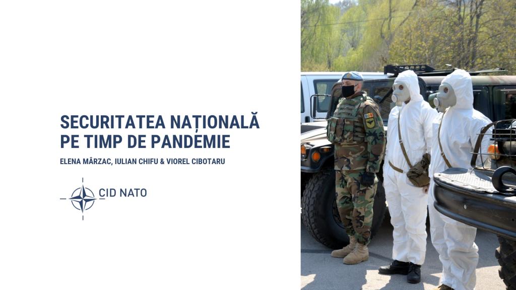 #1 Dialog cu experți: Securitatea națională pe timp de pandemie