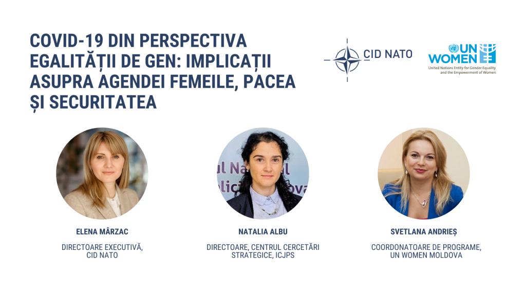 #4 Dialog cu experți: COVID-19 din perspectiva egalității de gen – implicații pentru Agenda Femeile, Pacea și Securitatea