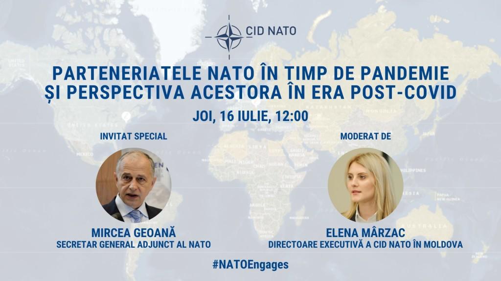 Masă rotundă: Parteneriatele NATO în timp de pandemie și perspectiva acestora în era post-COVID
