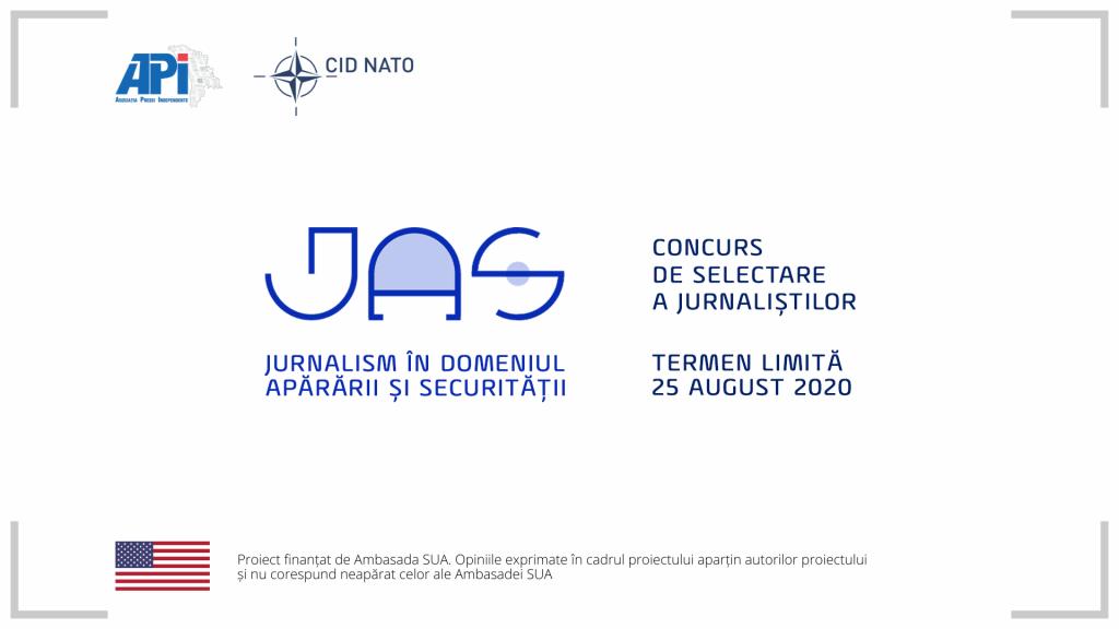"""API și CID NATO lansează un concurs de selectare a beneficiarilor programului """"Jurnalism în domeniul apărării și securității"""""""