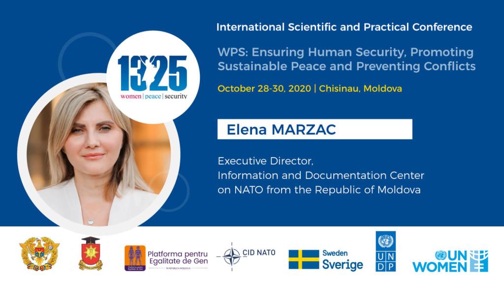 Op-ed #WPS2020: Elena Mârzac – Egalitatea de gen, reforma sectorului de securitate și apărare, buna guvernare