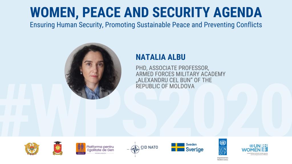 Op-ed #WPS2020: Natalia Albu: implementarea Rezoluției 1325 a CS al ONU privind Femeile, Pacea și Securitatea în mediul actual de securitate