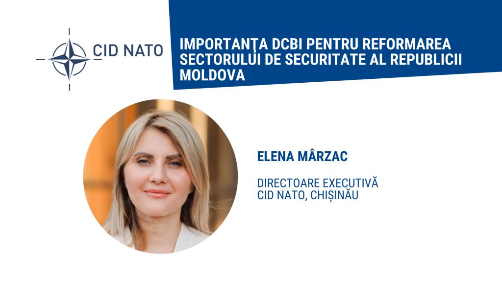 Op-ed: Elena Mârzac – Rolul societății civile în reformarea sectorului de securitate și apărare