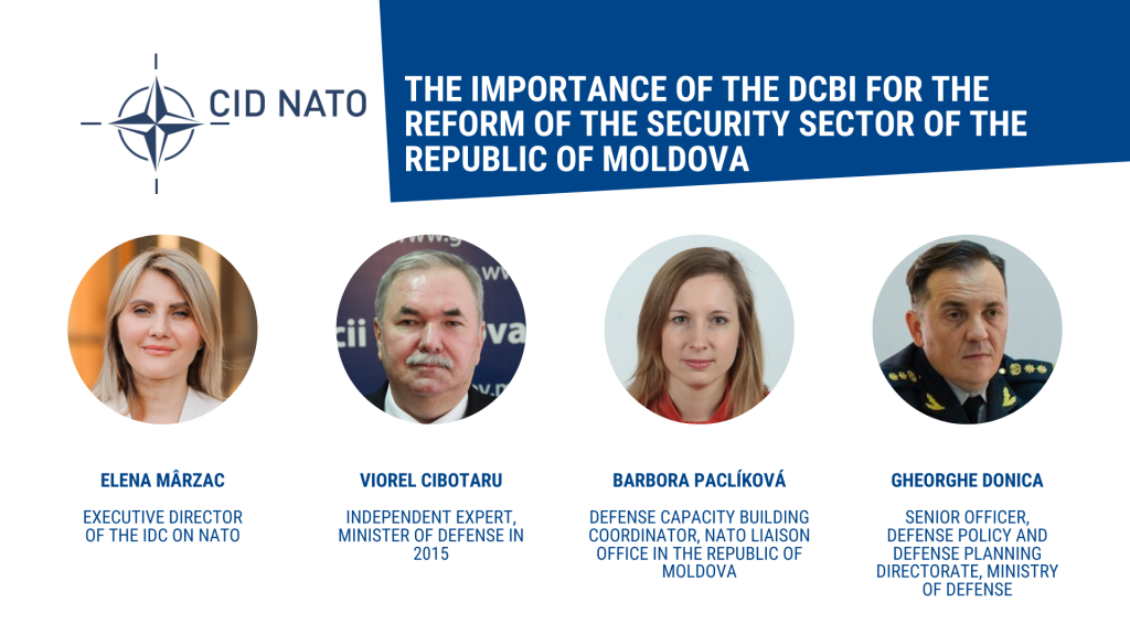 Round table: The importance of the DCBI for the reform of the security sector of the Republic of Moldova