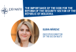 Op-ed: Elena Marzac – The role of the civil society for the security sector reform