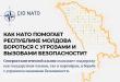 Инфографик – Как НАТО помогает Республике Молдова бороться с угрозами и вызовами безопасности?