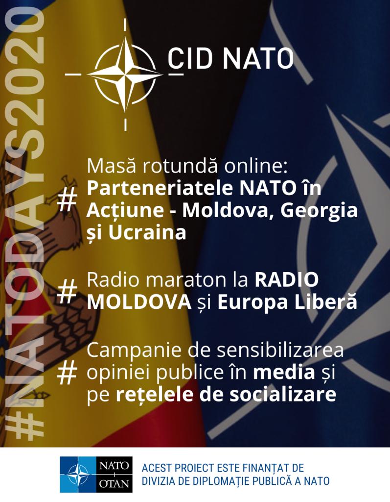 #NATODAYS2020: Zilele NATO 2020 în Moldova