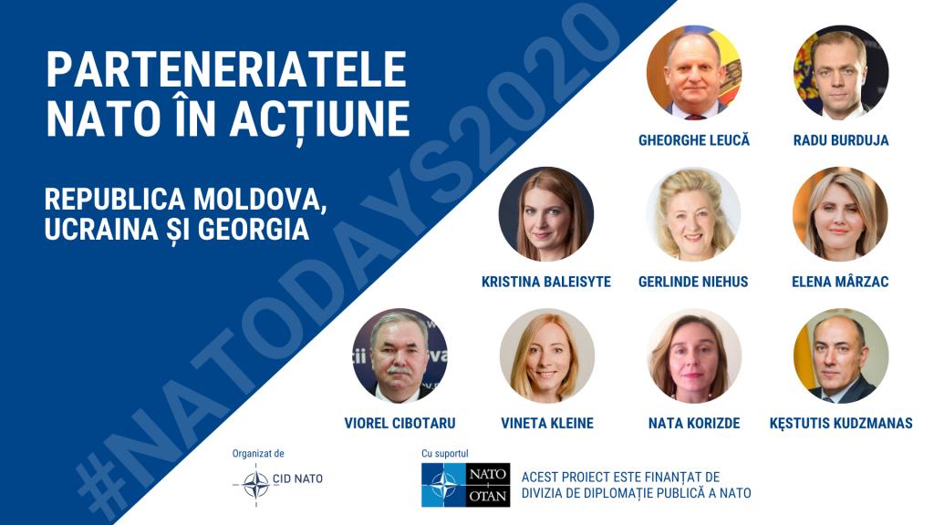 #NATODAYS2020: Round Table – NATO Partnerships in Action: the Republic of Moldova, Georgia and Ukraine