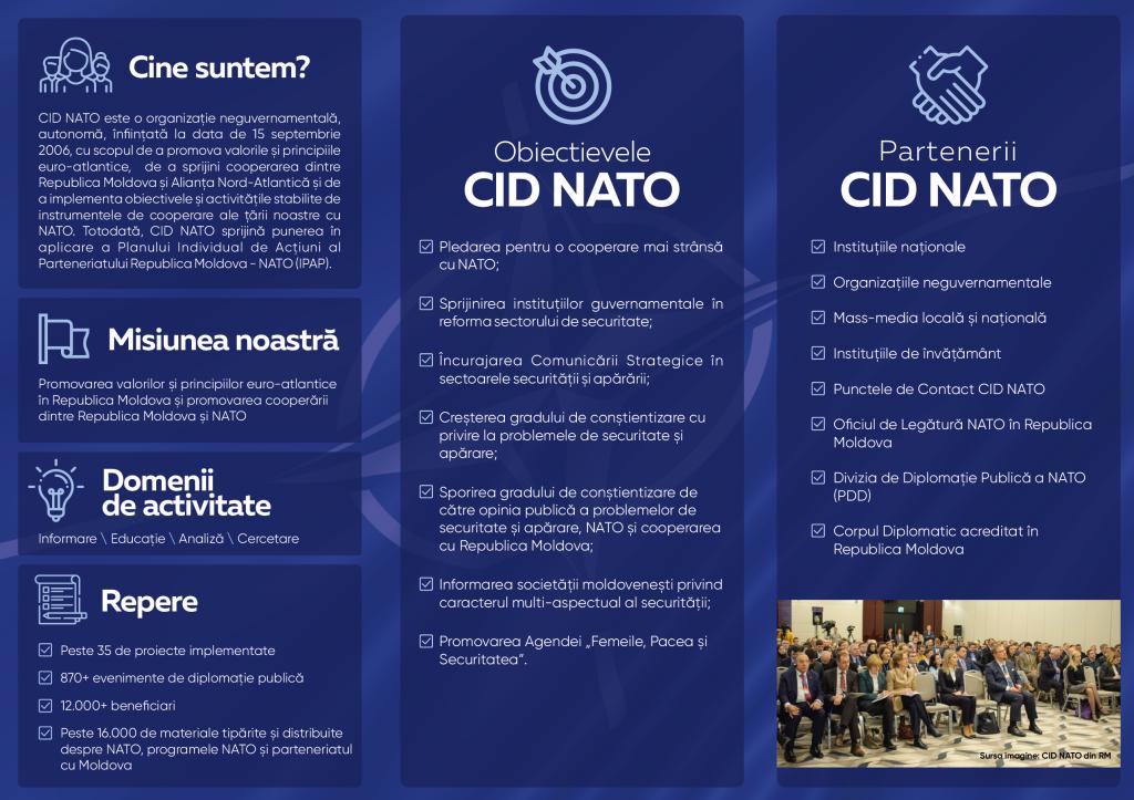 Leaflet – CID NATO
