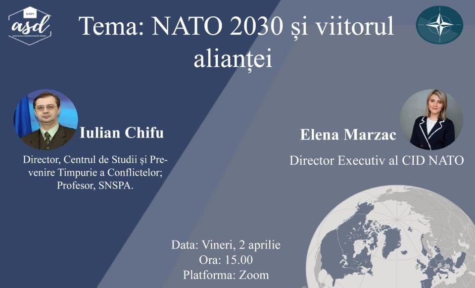 """Lecție publică """"NATO 2030 și viitorul alianței"""""""