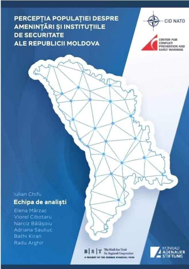 """Lansarea studiului """"Percepția populației despre amenințări și instituții de securitate ale Republicii Moldova"""""""
